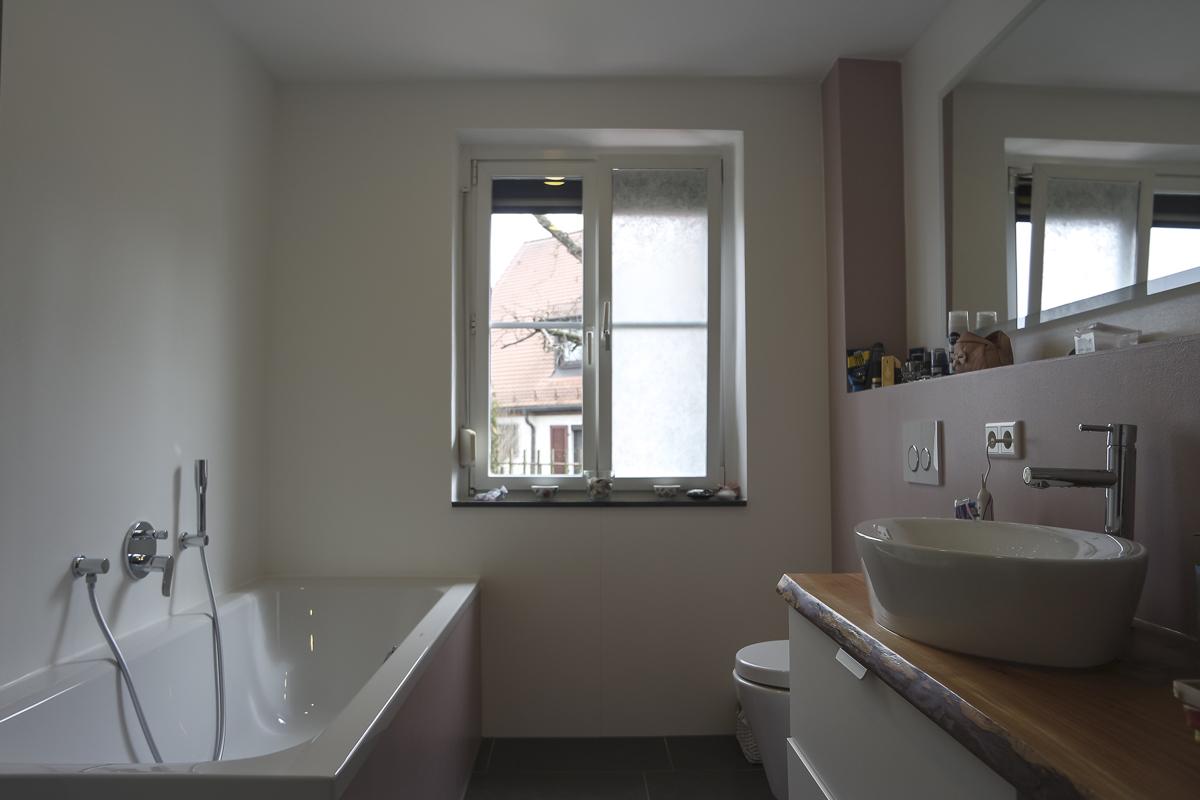 fugenloses badezimmer im altbau spart zeit und geld. Black Bedroom Furniture Sets. Home Design Ideas