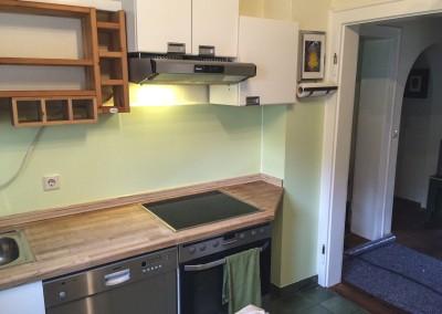 Fugenloser Küchenspiegel